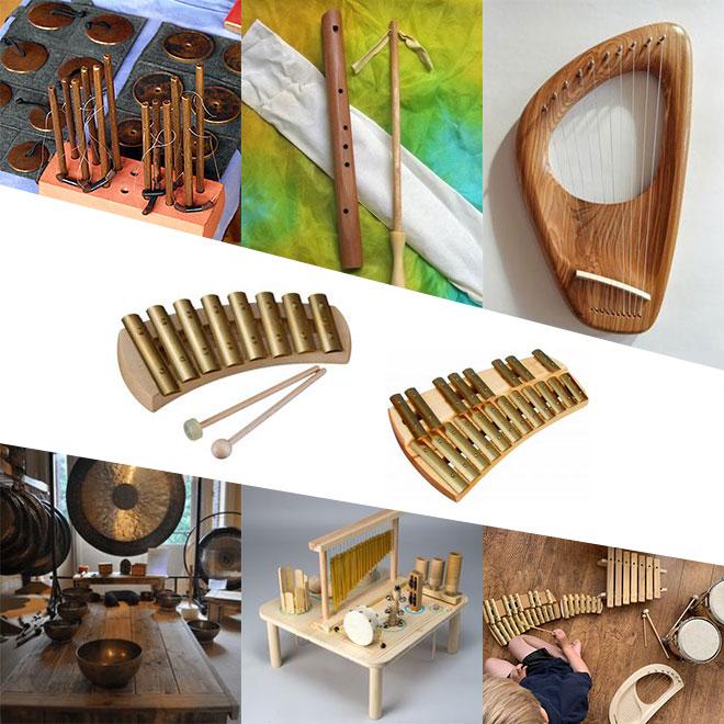 Hangszerek a Szent Márton Waldorf Iskolának