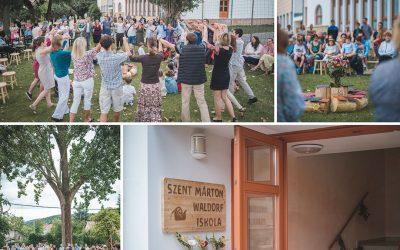 Megnyitotta kapuit a Szent Márton Waldorf Iskola